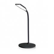 LED Lampa s Bezdrátovou Nabíječkou | Vypínač a Stmívač | Qi | 10 W | Studená, Teplá a Přirozená Bílá | 2 700-6 500 K | Černá