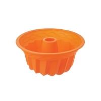 Forma na pečení ORION Bábovka 23.5 cm silikon oranžová