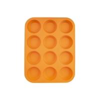 Forma na pečení ORION Muffiny 12 silikon oranžová