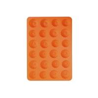 Forma na pečení ORION Věneček 24 silikon oranžová