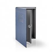 Trezor | Book Safe | Zámek | Vnitřní | Střední | Vnitřní objem: 1.6 l | 2 klíče | Modrá/Stříbrná