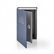 Trezor | Book Safe | Zámek | Vnitřní | Malý | Vnitřní objem: 0.86 l | 2 klíče | Modrá/Stříbrná