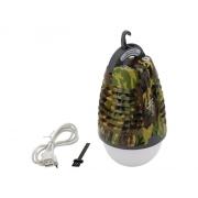 Svítilna CATTARA 13179  PEAR ARMY s lapačem hmyzu, nabíjecí