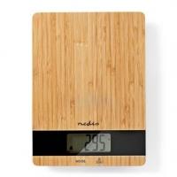 Kuchyňské váha | Digitální | Dřevo / Plast | Dřevo