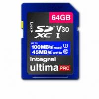 High Speed SDHC/XC V30 UHS-I U3 64GB SD memory card
