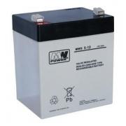 Baterie olověná  12V / 5 Ah MWS Power AGM gelový akumulátor