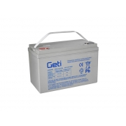 Baterie gelová 12V 100Ah Geti pro soláry