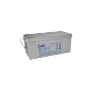 Baterie gelová 12V 200Ah Geti pro soláry