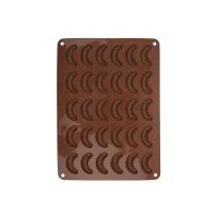 Forma na pečení ORION Rohlíček 30 silikon hnědá