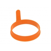 Forma na lívance/volská oka ORION Kruh silikon oranžová
