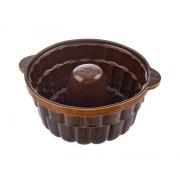 Forma na pečení ORION Bábovka 24 cm keramika hnědá