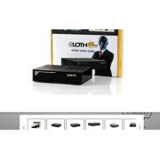 Opticum Sloth Combo 4K Ultra HD DVB-S2x/C/T2 H.265, CA