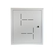 Telekomunikační montážní skříň pod omítku OMT-35S 350x400x90-120, bílá