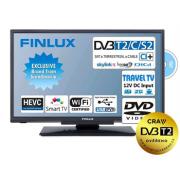Finlux LED TV 24FDM5760 DVB S2/T2/C, HEVC, 12V