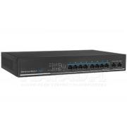 8-portový PoE Switch IPOX PX-SW8-U2 do racku