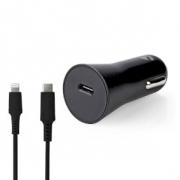 Nabíječka do auta | 1,67 A / 2,22 A / 3,0 A | Počet výstupů: 1 | Typ portu: USB-C™ | Lightning 8-Pin (Volný) | 1.0 m | 20 W | Au