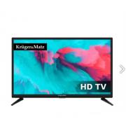 "Kruger&Matz LED TV 24"" HD DVB-T2 H.265 HEVC 230/12V do karavanu"