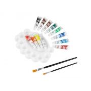 Akrylové barvy EASY CREATIVE 12 barev