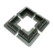 Držák pro fotovoltaický panel rohový- balení 4ks, černý