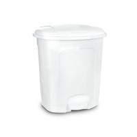 Koš odpadkový ORION 21l s pedálem bílý