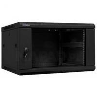 """19"""" Rack skříň W6606 (6U 600mm, závěsná,černá)"""