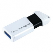 Flash Disk USB 3.0 64 GB Bílá/Černá