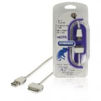 Synchronizační a Nabíjecí Kabel Apple Dock 30kolíkový - USB A Zástrčka 2.00 m Bílá