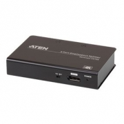 2-Port DisplayPort Černá
