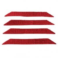 Sada Náhradních pásků pro Zachytávání Chlupů Červená
