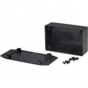 Plastová skříň 108.5 x 53.7 x 30 mm Černá ABS N/A