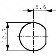 Adaptér BNC zásuvka/zásuvka 75 Ohm