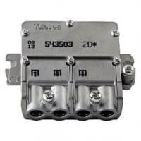 Satelitní Rozbočovač F-konektor 4.4 dB / 5-2400 MHz - 2 Výstupy