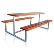 Lavice se stolem - Klasik 150 rozkládací (zahradní pivní set)