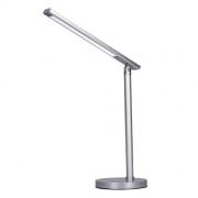 Stolní lampička LED stmívatelná, 7W, stmívatelná, změna chromatičnosti, stříbrná barva WO53-S