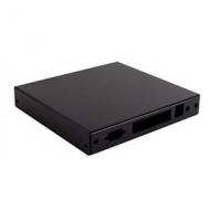 Montážní krabice CASE1D4BLKU, USB, 4x LAN, černá