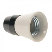 Solight objímka E27 keramika/plast 1332-136