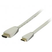 Bandridge Personal Media HDMI mini digitální kabel, 1m, BBM34500W10
