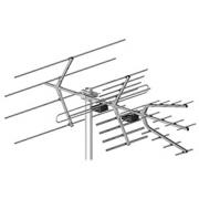 Profesionální anténní sada s polarizací H/V Dipol 28/5-12/21-60 DVB-T se zesilovačem LNA-177