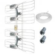 Solight venkovní DVB-T anténa, 42-47dB, VHF/UHF, 6. - 69. kanál