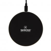 SKROSS Bezdrátový nabíjecí adaptér Wireless Charger 10, Qi technologie 10W