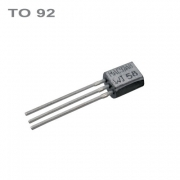 2N3904  NPN 40V,0.2A,0.6W,300MHz  TO92