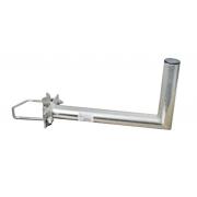 Anténní držák 25 na stožár s vinklem rozteč třmenu 120mm průměr 42mm