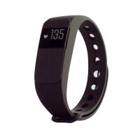 Fitness náramek s měřením tepu FT64S OLED, Bluetooth 4.0, Android+iOS černá - DOPRAVA ZDARMA