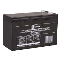 Bezúdržbový olověný akumulátor 12V 7,2Ah faston 4,7 mm