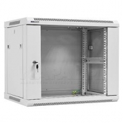"""19"""" Rack skříň W6409W (9U 450mm, závěsná, bílá)"""