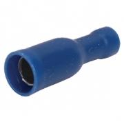 Konektor Fast On 5.0 mm Zásuvka PVC Modrá