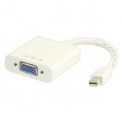 Kabel Mini DisplayPort Mini DisplayPort Zástrčka - VGA Zásuvka 0.20 m Bílá