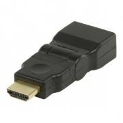 Adaptérem High Speed HDMI s Ethernetem Otočný HDMI Konektor - HDMI Vstup Černá