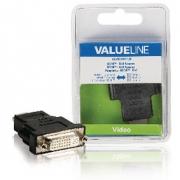 Adaptérem High Speed HDMI s Ethernetem HDMI Konektor - DVI-D 24+1p Zásuvka Černá