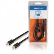 Kabel Mini DisplayPort Mini DisplayPort Zástrčka - Mini DisplayPort Zástrčka 2.00 m Černá
